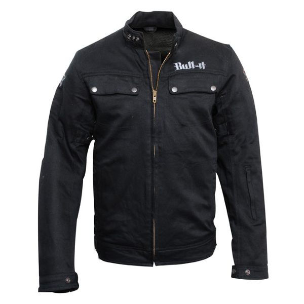 Bull-It Jacket Carbon Laser-4 Mens - Black