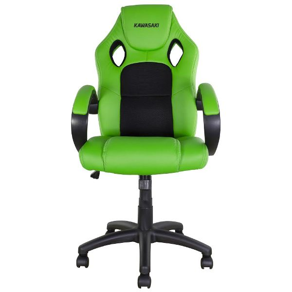 Bike It Rider Chair - Kawasaki Green/Black Trim