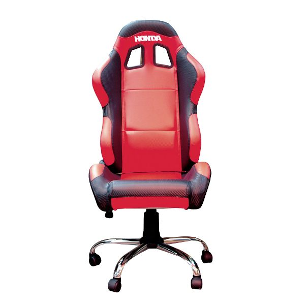 Bike It Team Chair - Honda Red/Black Trim
