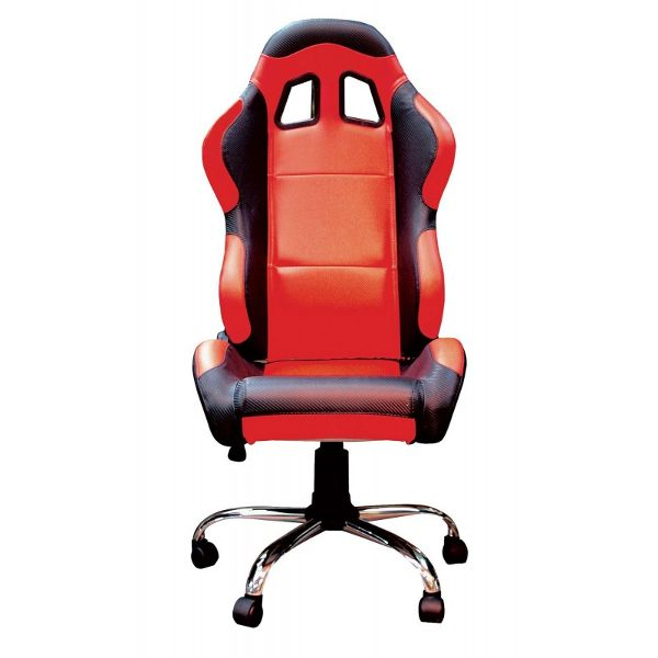 Bike It Team Chair - Red/Black Trim