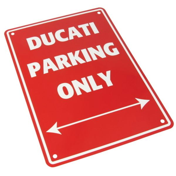 Bike It Parking Sign - Ducati Parking Only