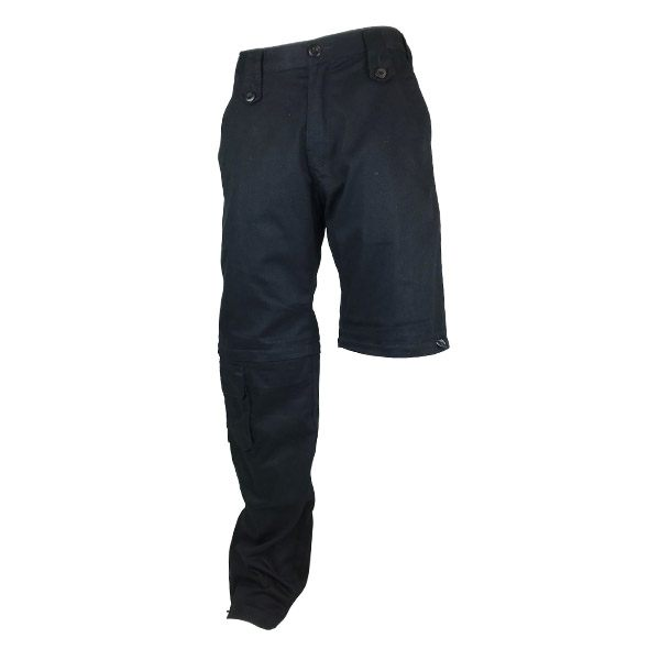 Bull-It Jeans Cargo [Zip Off Leg] Laser-4 Mens - Black