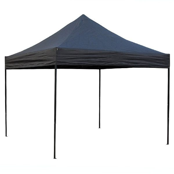 Bike It Quick-Up Gazebo 3x3m - Black