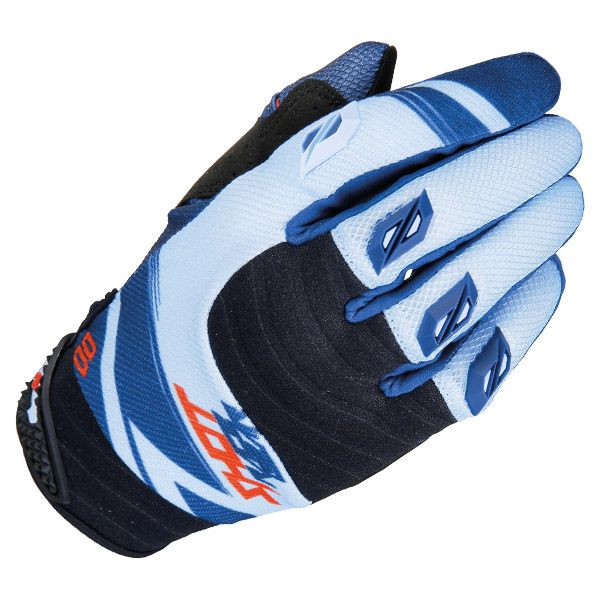 Shot 2017 Gloves - Contact Claw Blue/Red