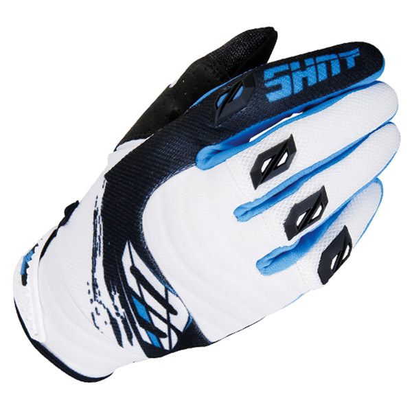 Shot 2017 Gloves - Contact Fast Blue
