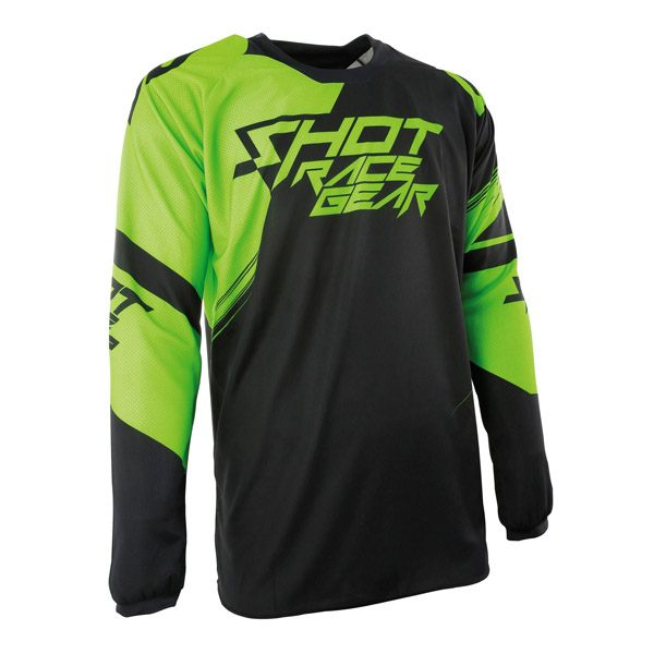 Shot 2017 Jersey - Contact Claw Neon Green