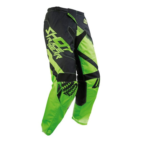 Shot 2017 Pant - Contact Claw Neon Green