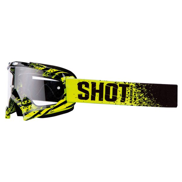 Shot MX Goggle Creed Broke Neon / Clear Lens