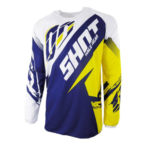 Shot 2017 Jersey - Contact Fast Blue/Yellow