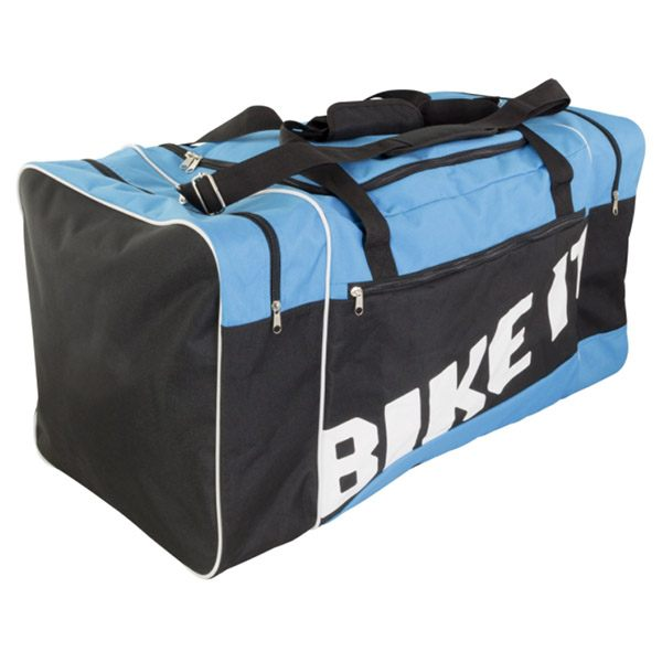 Bike It Luggage Kit Bag - Black/Blue 90L