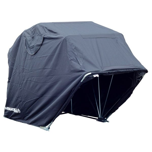 Bike It Motorcycle Garage Shelter Small - Black