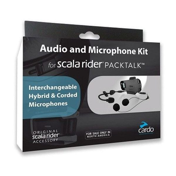 Scala Rider PackTalk Audio and Mic Kit