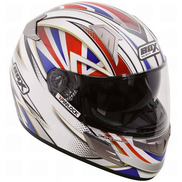 Box BZ1 Union Flag Helmet
