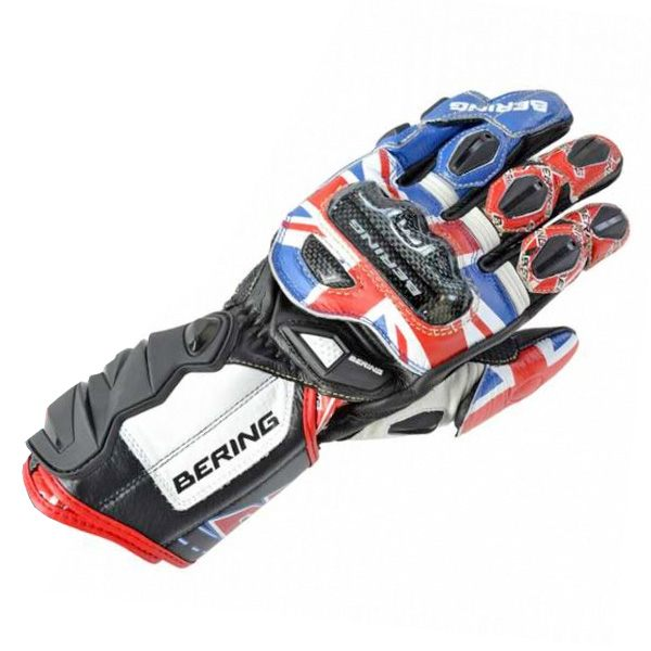 Bering Sam Lowes Replica Leather Gloves - Black