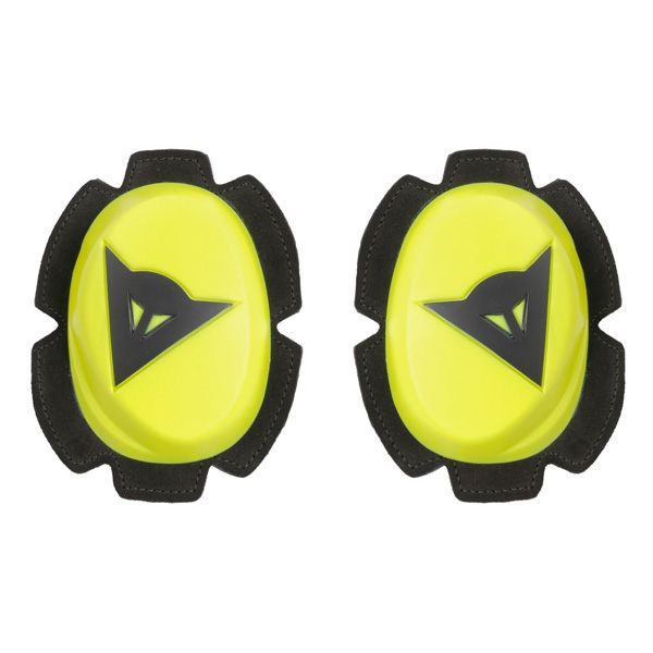 Dainese Pista Knee Slider - Fluo Yellow/Black