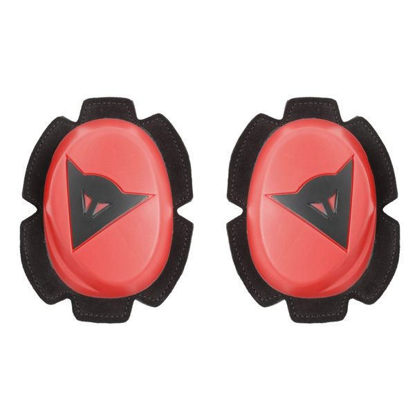 Dainese Pista Knee Slider - Fluo Red/Black