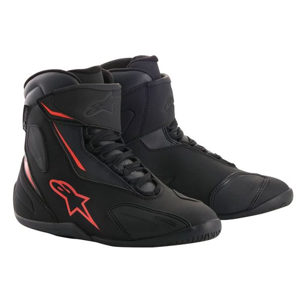 Alpinestars Fastback-2 Drystar Shoes - Black/Anthracite/Red