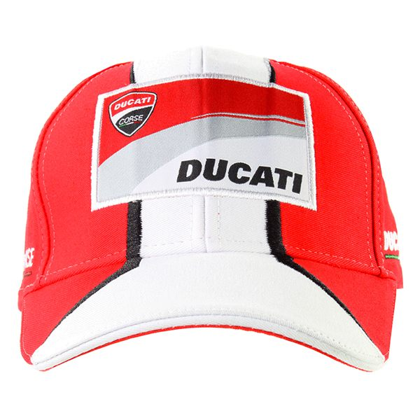 GP Apparel Ducati Cap - Red/White