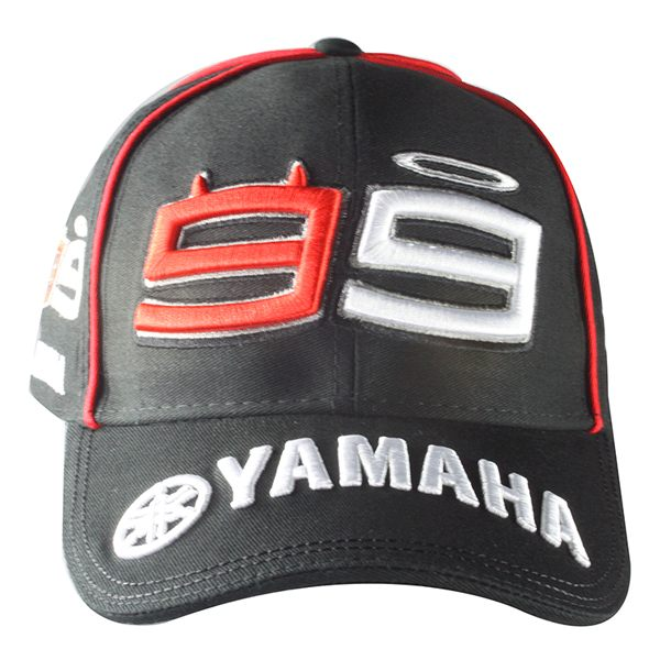 GP Apparel Lorenzo 99 Cap - Yamaha Black