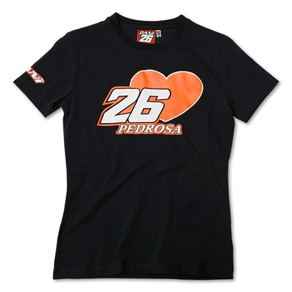 VR46 Pedrosa 26 Ladies T-Shirt - Blue