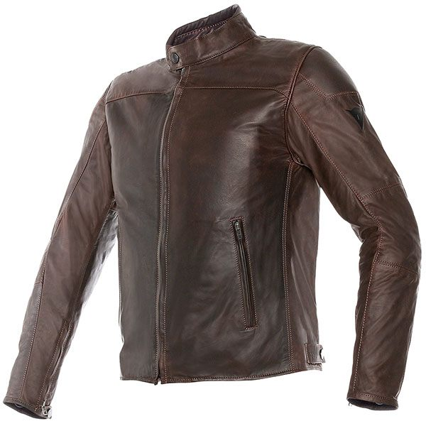 Dainese Mike Leather Jacket - Brown