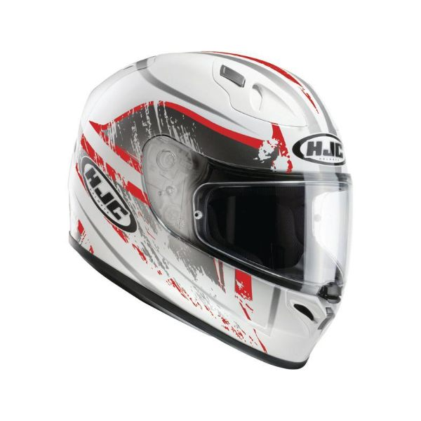 HJC FG-17 - Strike White/Red