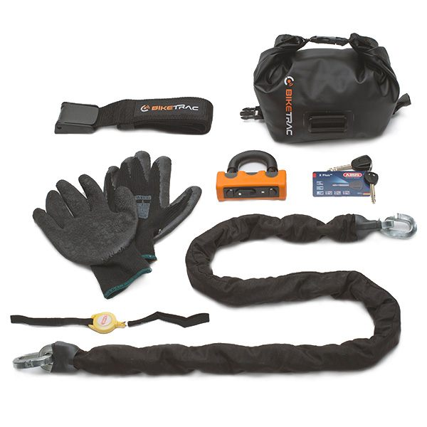 Biketrac Hard Security Grab Bag and Chain 1.4m