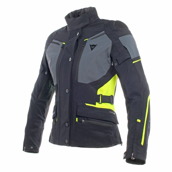 Dainese Carve Master 2 Gore-Tex Ladies Jacket - Black/Ebony/Fluo Yellow
