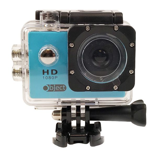 Object Action Camera - Waterproof & Wide Angle Lens