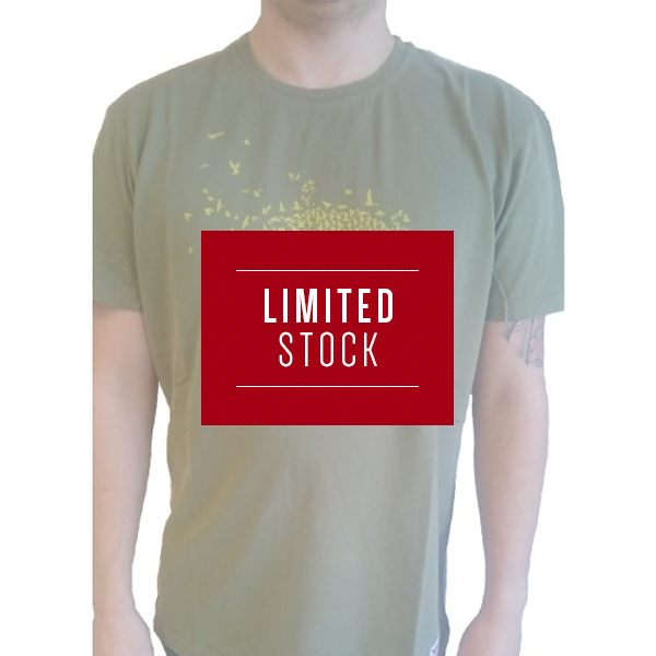 Red Torpedo Indy Bird T-Shirt Mens Mens - Khaki