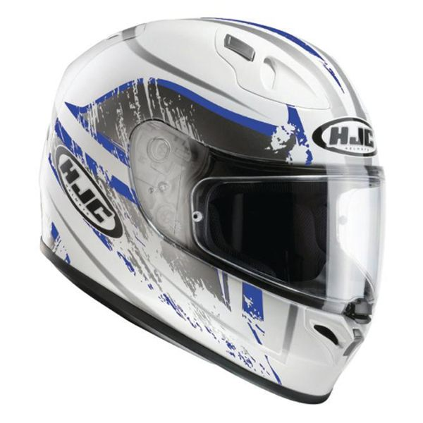 HJC FG-17 - Strike White/Blue