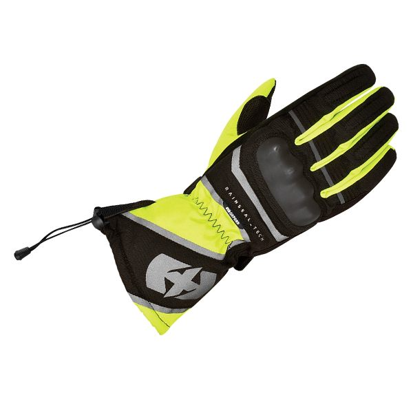 Oxford Montreal 1.0 Waterproof Gloves - Black/Fluo