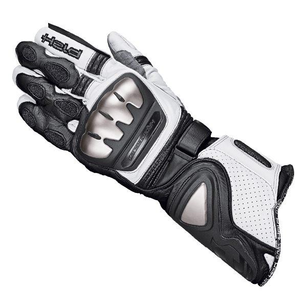 held titan evo gloves black white infinity motorcycles. Black Bedroom Furniture Sets. Home Design Ideas