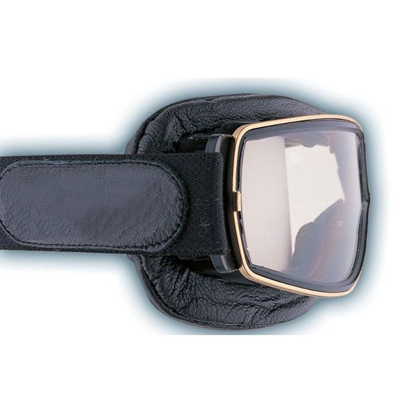 Davida Aviator T3 Goggles Gold/Clear