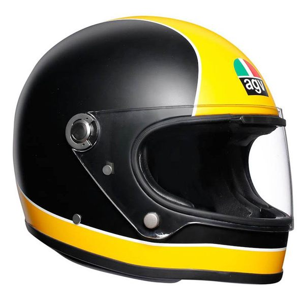 AGV X3000 - Super AGV Matt Black/Yellow