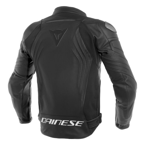 Dainese Racing 3 Leather Jacket - Black