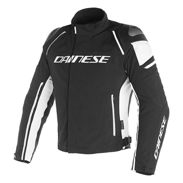 Dainese Racing 3 D-Dry Jacket - Black/White