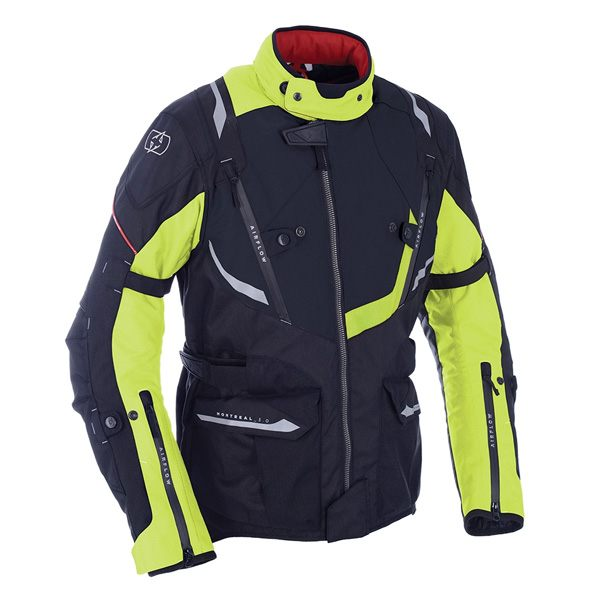 Oxford Montreal 3.0 Waterproof Jacket - Black/Fluo