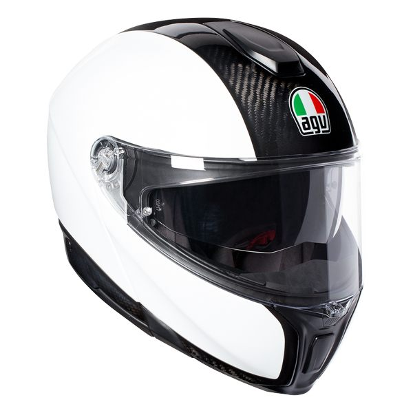 AGV Sports Modular - Gloss Carbon/White