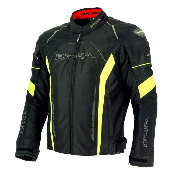 Richa Falcon Jacket - Black/Fluorescent