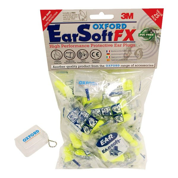 Oxford EarSoft 25 packt Earplugs