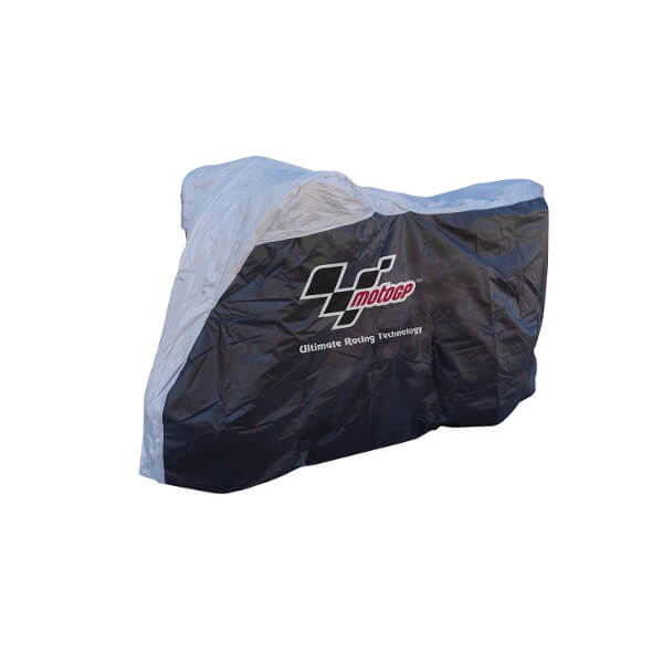 Bike It MotoGP Rain Cover Medium - Black/Grey