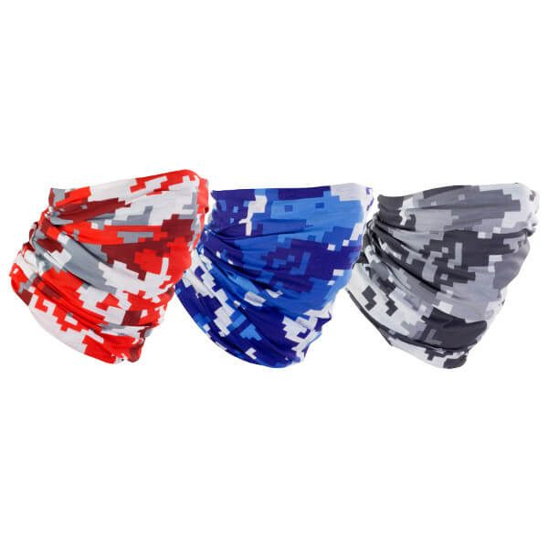 Bike It Neck Tube Triple Pack - Urban Camo