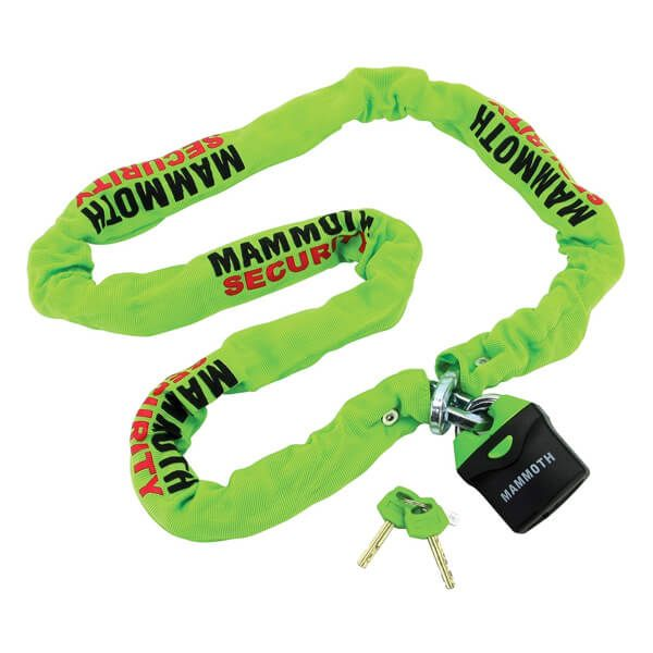 Bike It Mammoth Lock & Chain - 10x10x1.8m