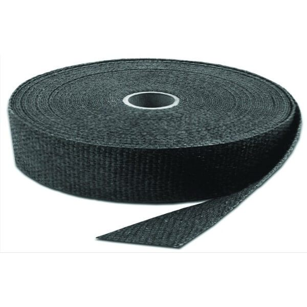 Bike It Exhaust Wrap Tape 1X50ft - Black