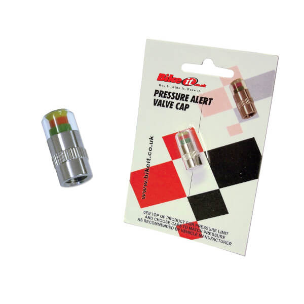 Bike It Pressure Alert Valve Cap - 29-30 PSI
