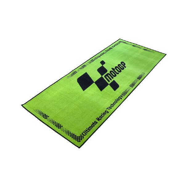 MotoGP Workshop Green/Black Mat 15 - 190x80cm