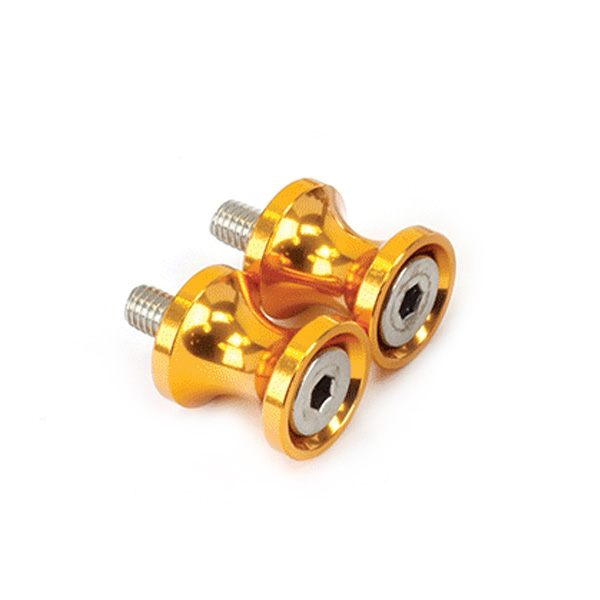 Bike It Swing Arm Spools 8mm - Gold