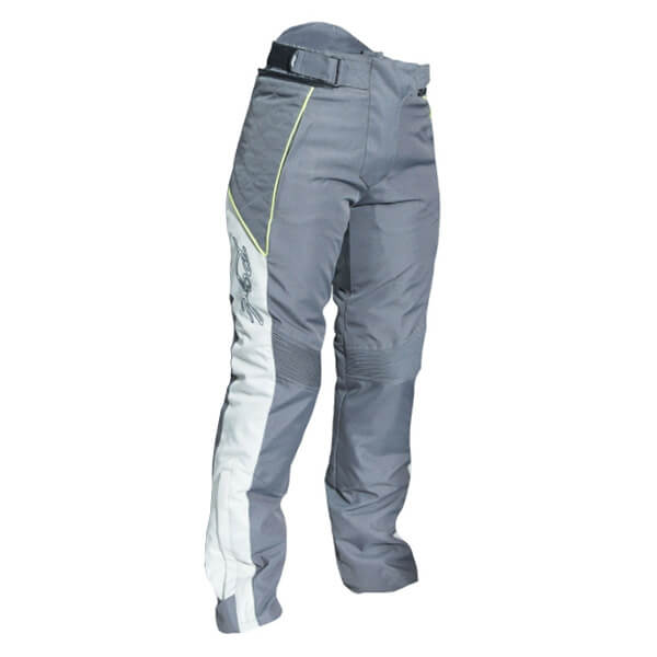 RST Gemma 2 2046 Ladies Waterproof CE Trousers - Gun/Fluo Yellow