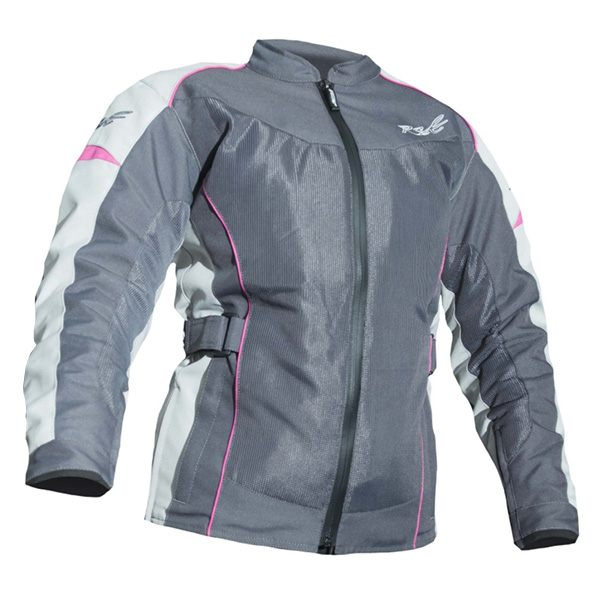 * RST Gemma 2 CE Ladies Waterproof Jacket -  Gun/Fluo Pink